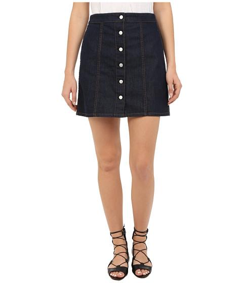 Imbracaminte Femei Theory Sinall Spring Denim Skirt Dark Indigo