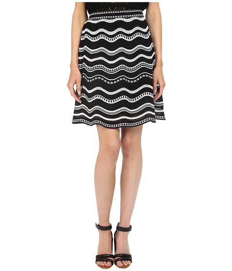 Imbracaminte Femei Missoni Star Stripe Skirt Black