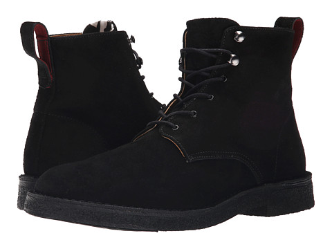 Incaltaminte Barbati Paul Smith PS Echo Lace Boot Black Suede