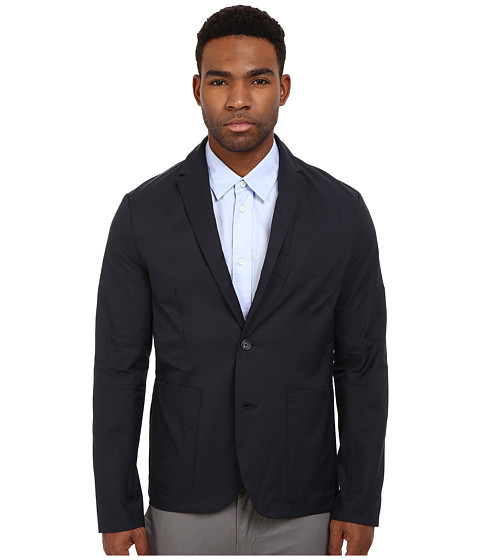 Imbracaminte Barbati Original Penguin Tech Jacket Slim Fit Dark Sapphire