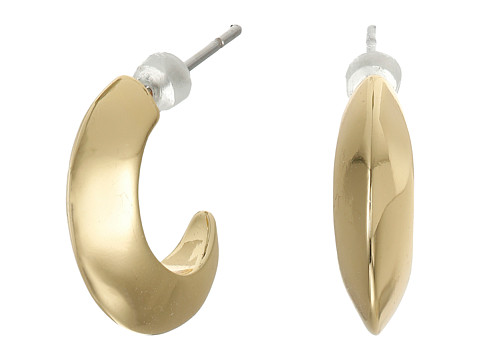 Bijuterii Femei LAUREN Ralph Lauren Luxe Links Small Knife Edge Hoop Earrings Gold