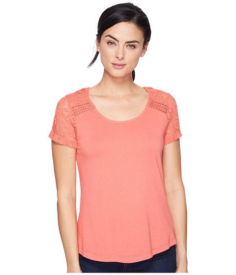 Imbracaminte Femei Aventura Clothing Wyatt Short Sleeve Spiced Coral