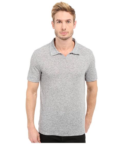 Imbracaminte Barbati John Varvatos Johnny Collar Knit Shirt K2571S1L Grey Heather
