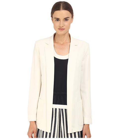 Imbracaminte Femei Armani Jeans Poly Crepe Blazer White