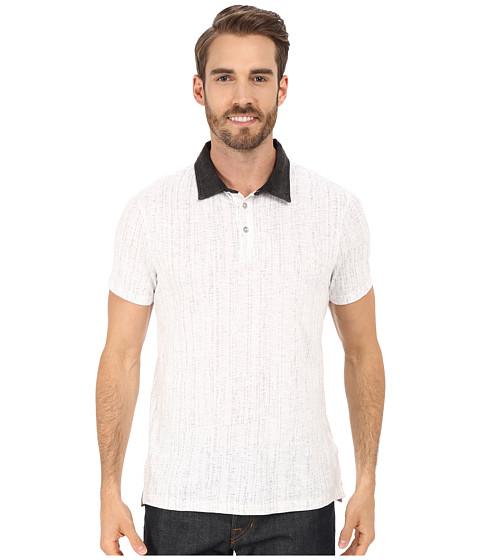 Imbracaminte Barbati Calvin Klein Slub Jersey Digit Dot Polo White