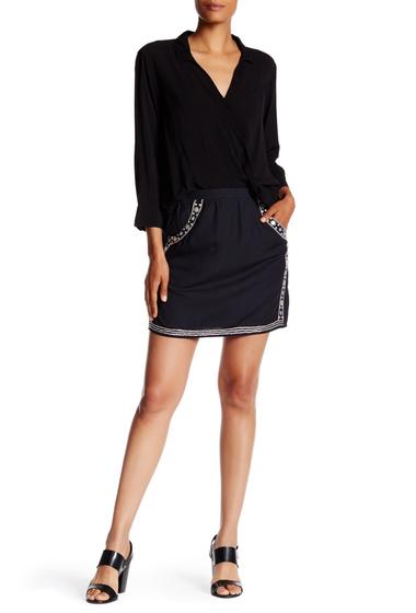 Imbracaminte Femei Velvet By Graham Spencer Embellished Mini Skirt VBK