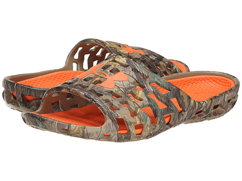 Incaltaminte Barbati Under Armour UA Mavrix Camo SL Realtree AP-XtraCleveland BrownBlaze Orange