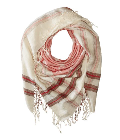 Accesorii Femei Steve Madden Stars and Bars Jacquard Square Day Wrap Red