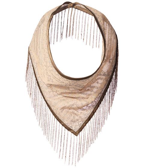 Accesorii Femei Steve Madden Metal Fringe Triangle Neckerchief Silver