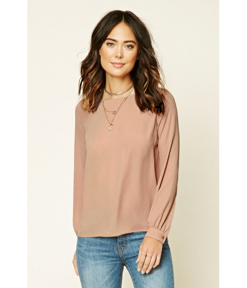 Imbracaminte Femei Forever21 Contemporary Self-Tie Top Blush