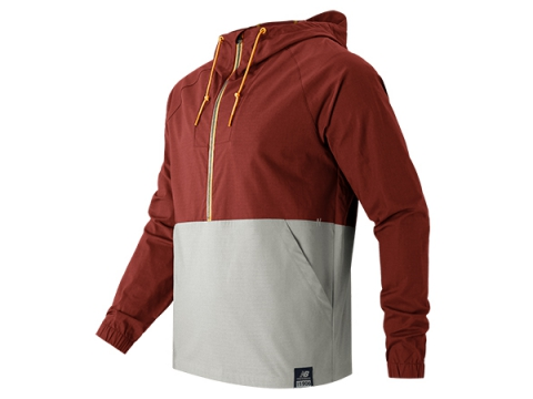 Imbracaminte Barbati New Balance Anorak Jacket Clay Red