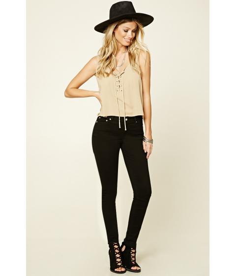 Imbracaminte Femei Forever21 Skinny Jeans Black