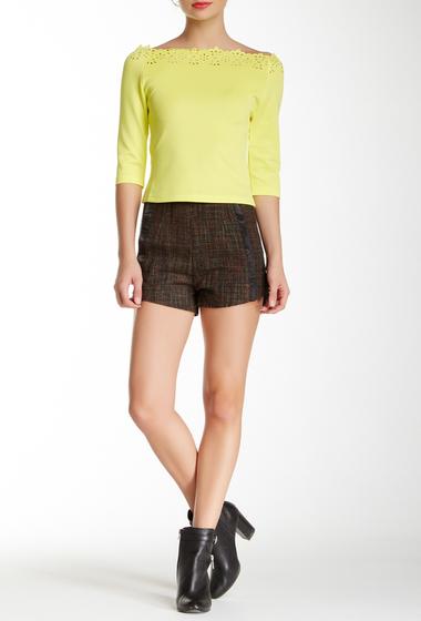 Imbracaminte Femei Gracia Multicolor High Waisted Short BLACK