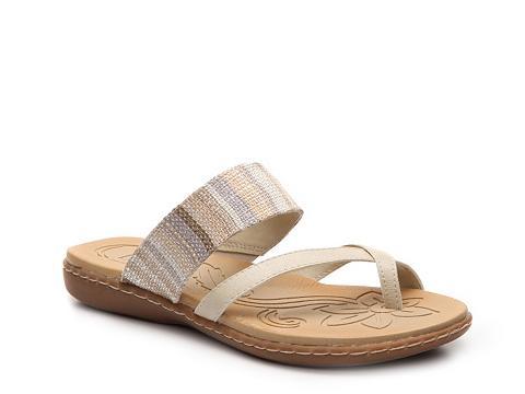 Incaltaminte Femei boc Gould Flat Sandal Taupe Multi