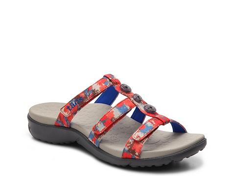 Incaltaminte Femei taos Footwear Celebration Wedge Sandal Coral