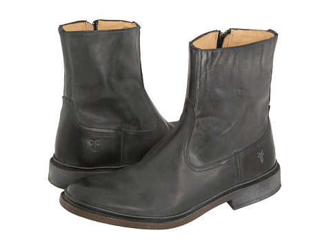 Incaltaminte Barbati Frye James Inside Zip Black