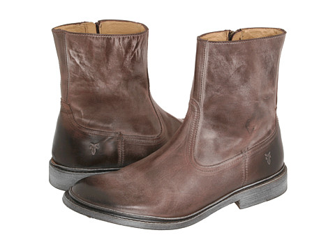 Incaltaminte Barbati Frye James Inside Zip Brown