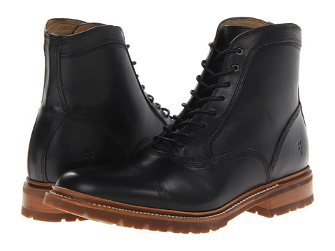 Incaltaminte Barbati Frye James Bal Lug Black Smooth Full Grain