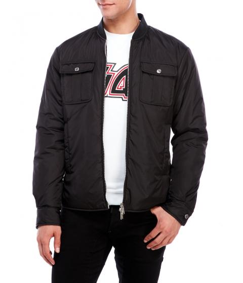 Imbracaminte Barbati DSQUARED2 Black Zip Jacket Black