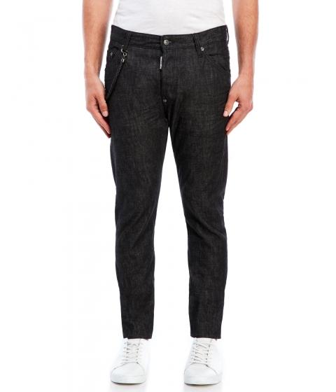 Imbracaminte Barbati DSQUARED2 Black Jeans Black