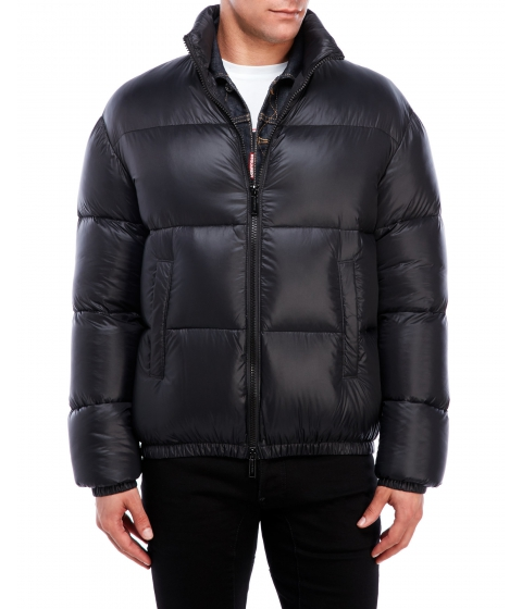 Imbracaminte Barbati DSQUARED2 Logo Down Jacket Black