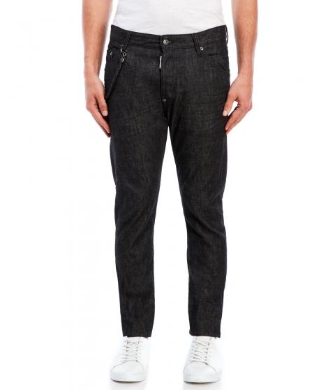 Imbracaminte Barbati DSQUARED2 Black Five-Pocket Jeans Black