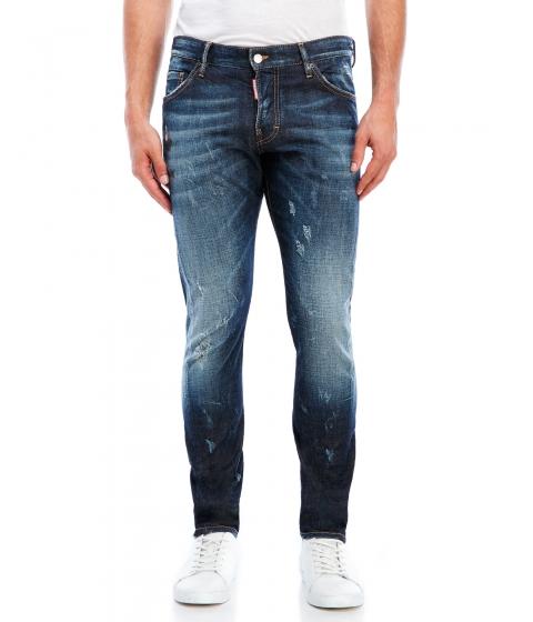 Imbracaminte Barbati DSQUARED2 Blue Distressed Icon Jeans Blue