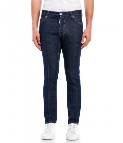 Imbracaminte Barbati DSQUARED2 Blue Five-Pocket Jeans Blue