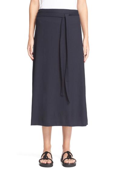 Imbracaminte Femei Helmut Lang Wrap Midi Skirt NAVY