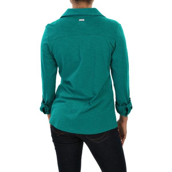 Imbracaminte Femei Columbia Rocky Ridge Shirt - Long Sleeve EMERALD (01)