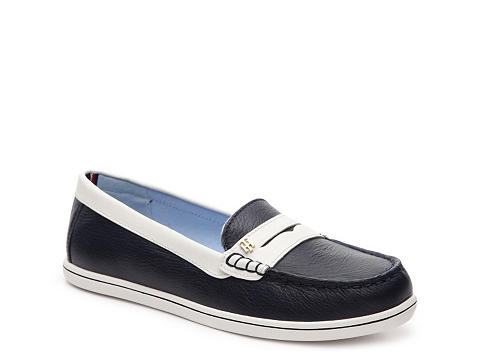 Incaltaminte Femei Tommy Hilfiger Butter Loafer NavyWhite