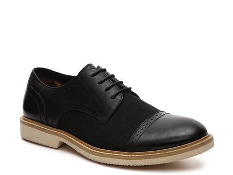 Incaltaminte Barbati J75 by Jump Boston Cap Toe Oxford Black