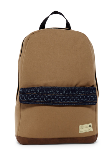 Genti Barbati Hex Accessories Echo Backpack TAN-NAVY
