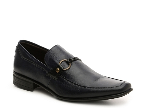 Incaltaminte Barbati Mike Konos Leather Loafer Grey