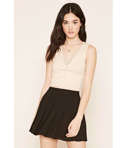 Imbracaminte Femei Forever21 Pleated Mini Skirt Black