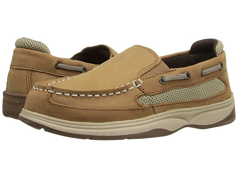 Incaltaminte Baieti Sperry Top-Sider SP-Lanyard Slip-On (Little KidBig Kid) Dark Tan