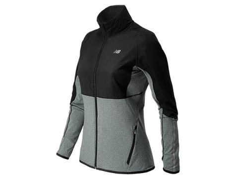 Imbracaminte Femei New Balance Raptor Jacket Anthracite with Black