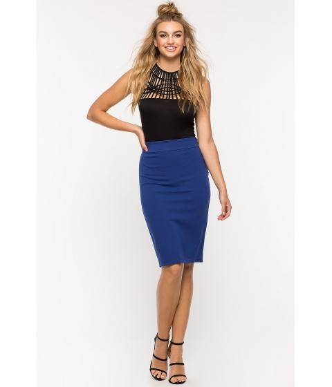 Imbracaminte Femei CheapChic Kim Side Zip Pencil Skirt Royal