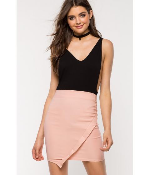 Imbracaminte Femei CheapChic Origami Pencil Skirt Mauve