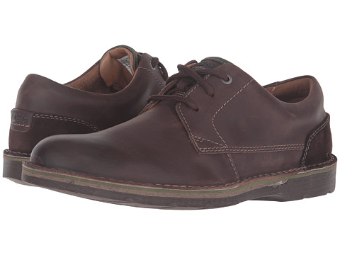 Incaltaminte Barbati Clarks Edgewick Plain Dark Brown Leather