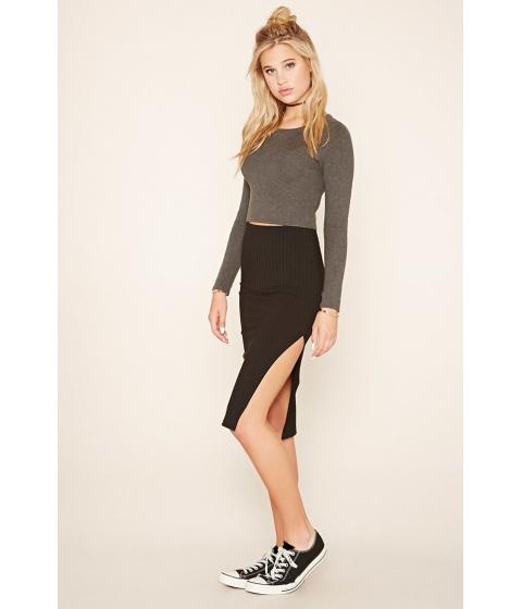 Imbracaminte Femei Forever21 Ribbed Pencil Skirt Black
