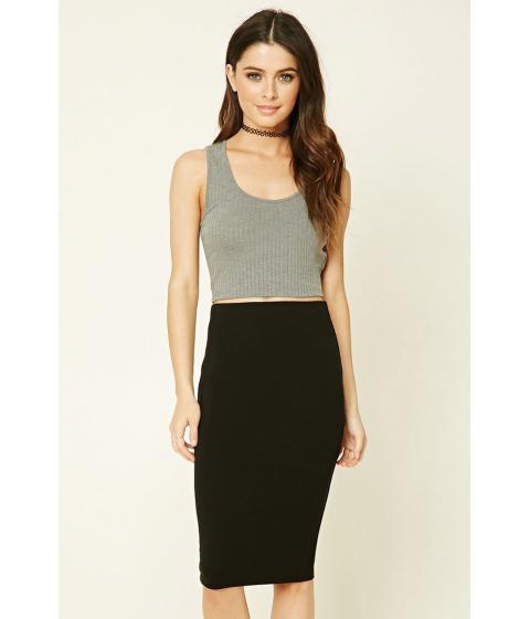 Imbracaminte Femei Forever21 Stretch-Knit Bodycon Skirt Black