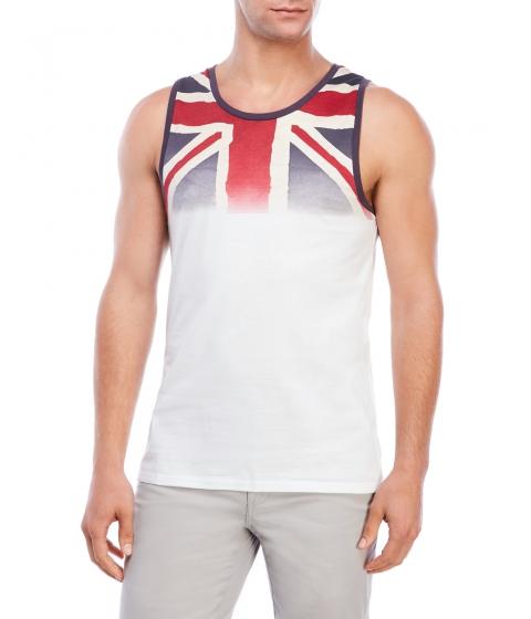 Imbracaminte Barbati Ben Sherman British Flag Tank White