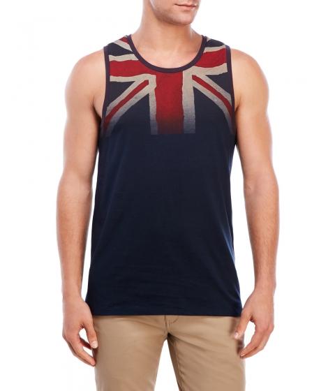 Imbracaminte Barbati Ben Sherman British Flag Tank Navy