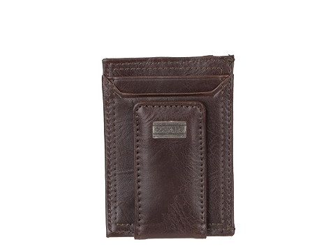 Accesorii Barbati Dockers Dockers Solid Leather Card Case Dark Brown