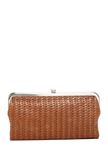 Accesorii Femei Hobo Lauren Leather Wallet EMBOSSED RUSSET