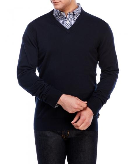 Imbracaminte Barbati Ben Sherman V-Neck Sweater Navy Blazer