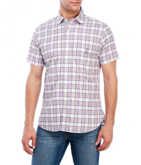 Imbracaminte Barbati Psycho Bunny Short Sleeve Sport Shirt Viola