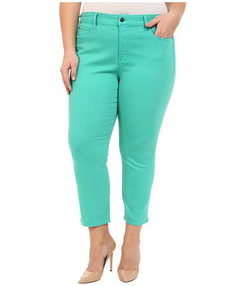 Imbracaminte Femei NYDJ Plus Size Ira Slim Ankle in Jade Mint Jade Mint