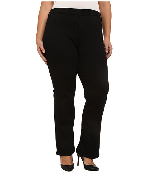 Imbracaminte Femei NYDJ Plus Size Isabella Trousers in Black Black